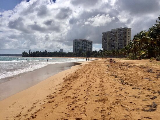 Laid-back beach in the heart of Luquillo!
