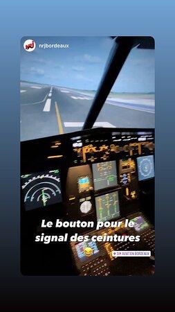 Simulateur # SIM AVIATION BORDEAUX