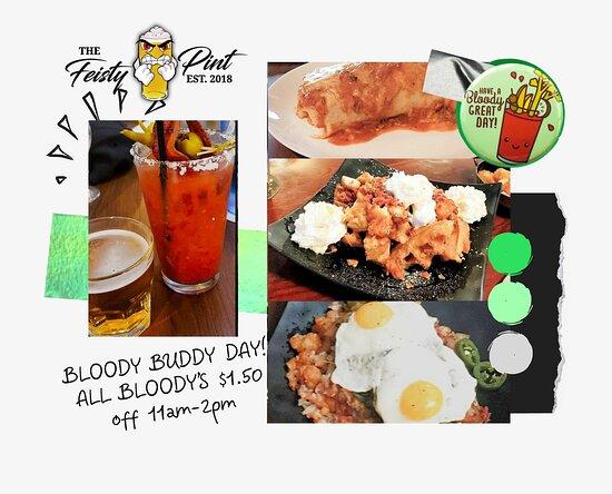 #bloodymary https://www.toasttab.com/feisty-pint #happyhour #downtowngj #food #craftbeer #hardciders #wine #whiskey