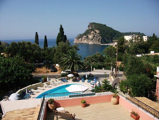 Scenic coastline of Paleokastritsa, Corfu