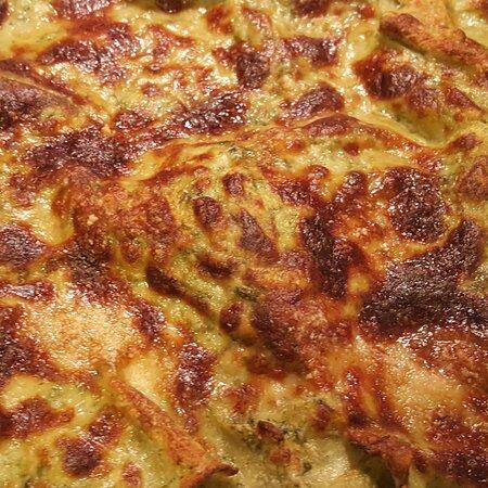 Ricette di Liguria, lasagne al pesto. Buona domenica a tutti!