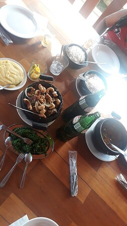Desde Chile, una maravilla el restaurante Caipira.
