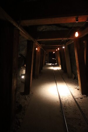 In the mines