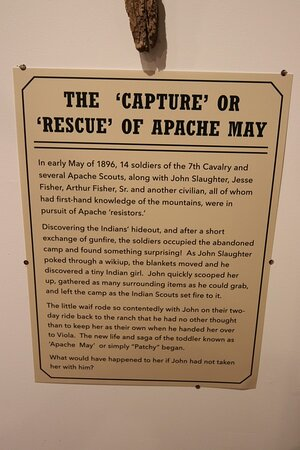 The Capture or rescue Apache May