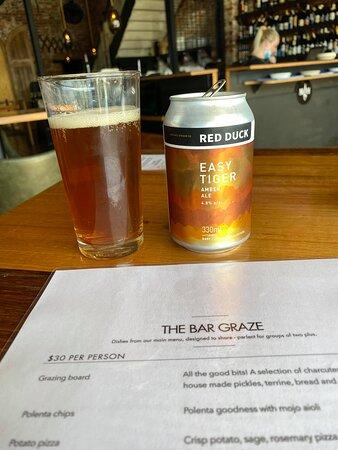 Ballarats own Red Duck beer