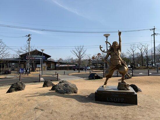 Usopp Statue
