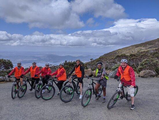 Mt Wellington Descent Bike Ride