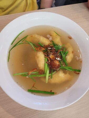 Woodville Gardens, Australien: Mini wonton soup