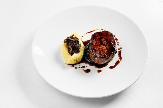 John Stone Fillet Steak Braised Oxtail and Creamed Potato