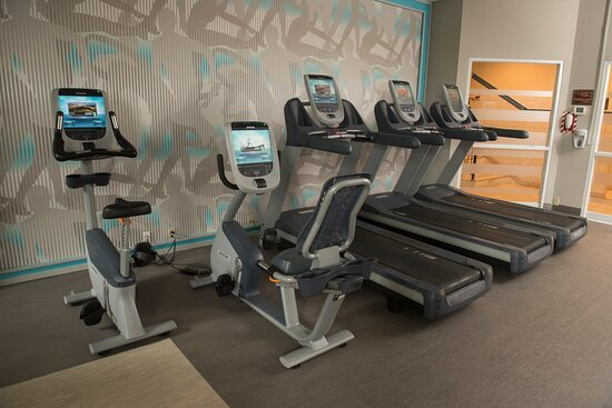 Energize with a workout in our Fitness Center