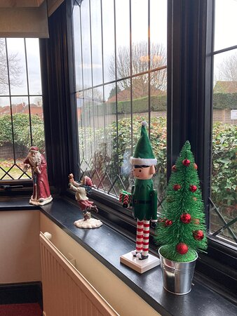 The elf is watching