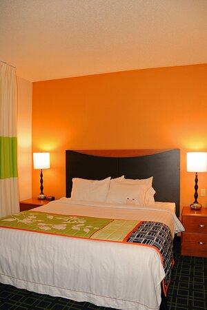 Whirlpool Suite Sleeping Area