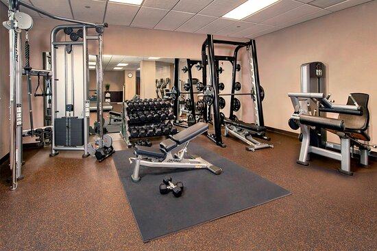 Fitness Center - Nautilus Equipment and Free Weights