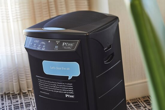 In-Room Amenities - PURE Air Filter