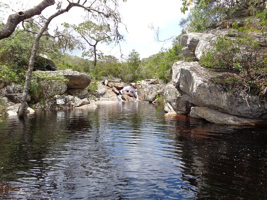 Rio de Contas, BA: Terceira e última cachoeira da Fazenda Vaccaro.