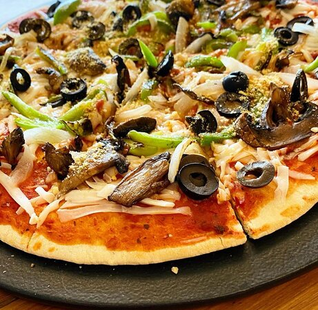 100% vegan pizza