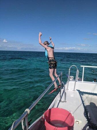 Snorkel Trip: off we go