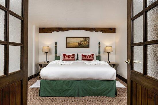 Golden Peak Bi Level Master Bedroom