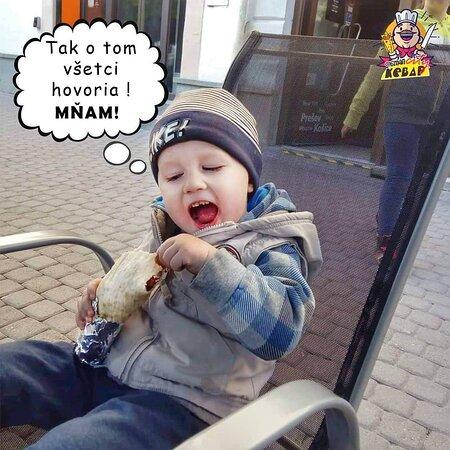 kebab miluju aj deti