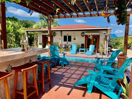 Enjoy Corozal, Belize at Casa de Shelley. Stay in a place  with great security and all the comforts like home.