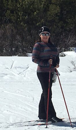 Individual Nordic lesson on the groomed trails