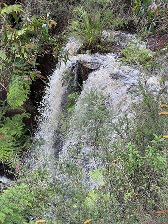 Great Otway National Park, Úc: Currawong Falls following recent rain.