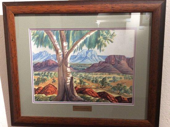 New Norcia, أستراليا: Namatjira painting