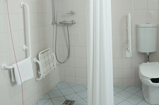 Bathroom in Wheelchair Accessible Guest Room