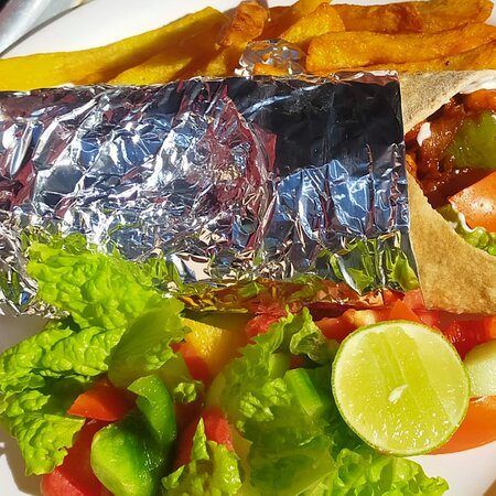 Made by Asian corner restaurant in leh main market near to jama masjid
