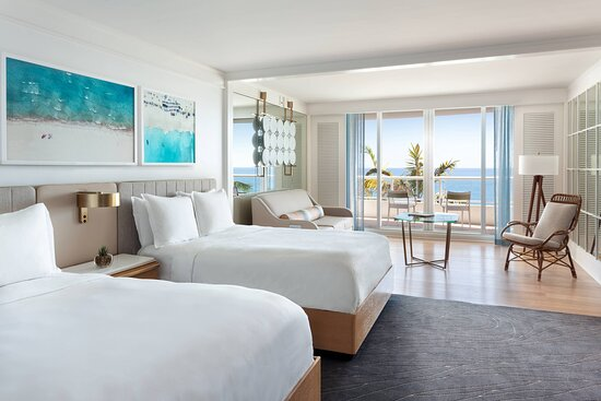 Oceanfront Double/Double Low Floor Room