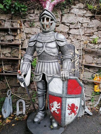 The Knight that guard the yard