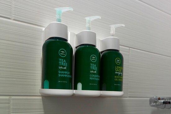 Suite Bathroom - Paul Mitchell® Shower Amenities