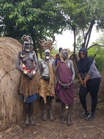 Mursi tribe Jinka ,Omo Vallyey South Ethiopia