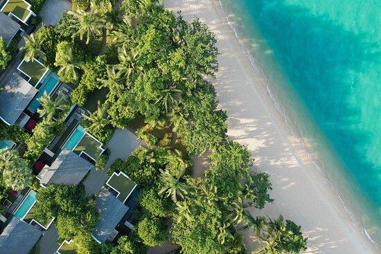 Ocean Front Haven Villa - Aerial View