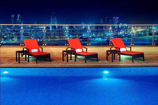 Rooftop Pool View