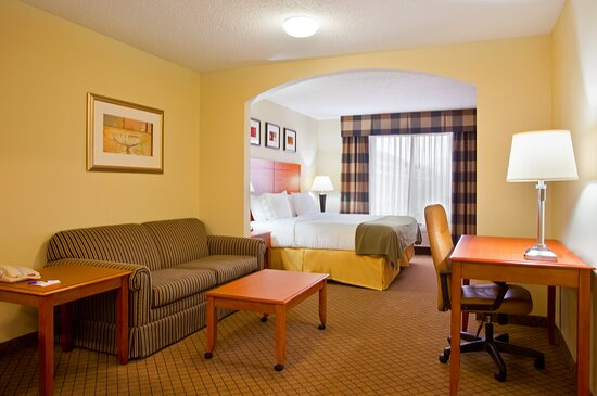 King Bed Suite.  Perfect for business travel, couples and families