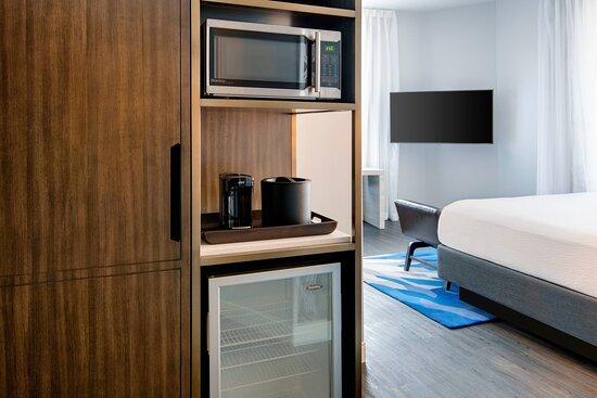 Guest Room - Microwave & Refrigerator