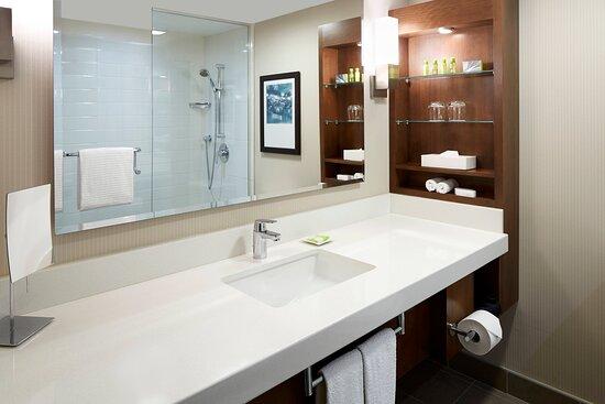 Deluxe Guest Bathroom - Walk-In Shower
