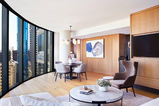 Elizabeth Quay Suite - Living Space