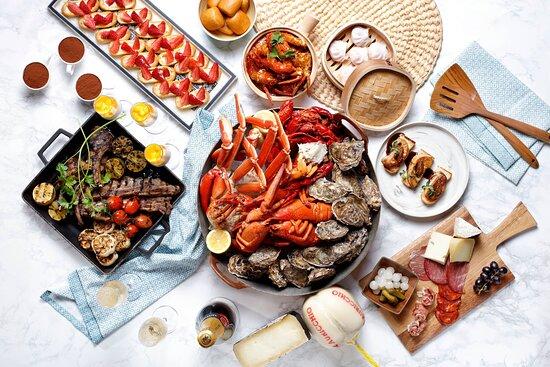 Award-winning International buffet at Beach Road Kitchen