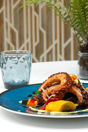 K&B - Grilled Octopus Tentacles