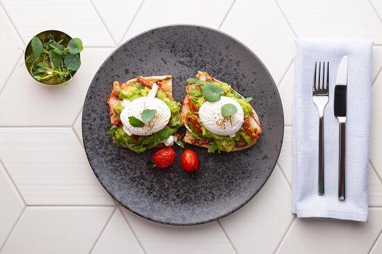 Emiliya Restaurant - Avo Eggs