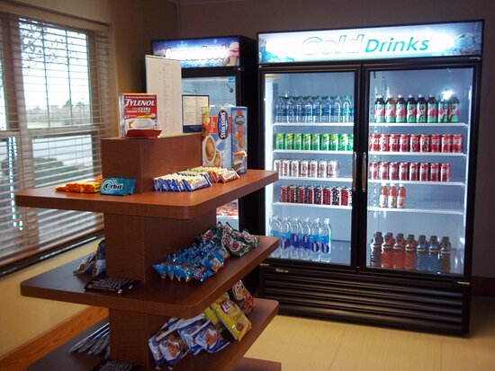 Forget something, or have a craving? Stop by our 24 hour pantry