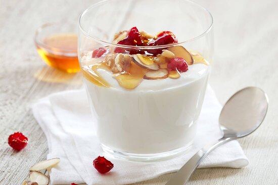 Complimentary Breakfast - Yogurt, Topped Off