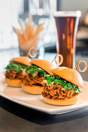The Porch - Pulled Pork Sliders