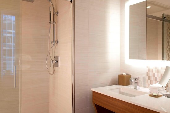 Traditional/Deluxe King Guest Bathroom - Walk-In Shower