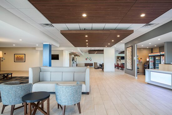 Contemporary, spacious, and functional Hotel Lobby.