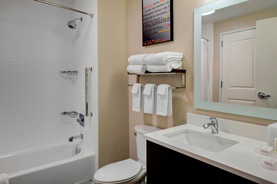Guest Bathroom with Bath Tub