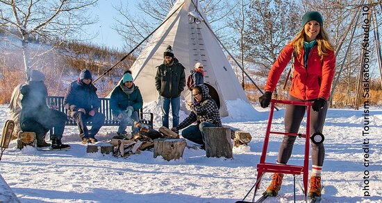 Explore the outdoors and learn the history of Wanuskewin.