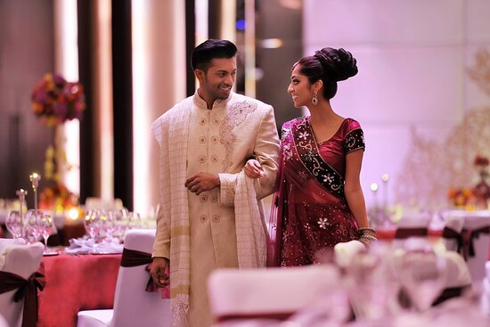 Dubai Ballroom - Indian Wedding Setup